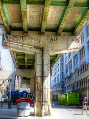 Gardiner Bridge (euanwhite) Tags: toronto gardiner transportation infrastructure decay concrete crumbling highway deterioration bridge underbelly