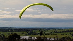 Al on final2 (overflow50) Tags: paragliding paraglider canberra springhill spring australia clouds sky