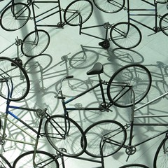 bike-stract (weltreisender2000) Tags: detail bicycle sculpture weiwei forever shadow museum fine arts boston explored