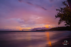 Purple Sunset (Ben.2BR) Tags: 201609mebt corpsdegarde couchdesoleil longexposure plage poselongue purple sunset