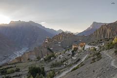 Dhankar Village - Spiti Valley - Himachal Pradesh (Santhosh LV) Tags: flickr estrellas flickrtravelaward canonflickraward
