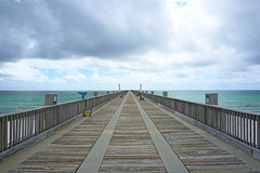 Pensacola Beach Gulf Pier (kevin33040) Tags: none sony a6000 florida fl pensacolabeachfl pensacolabeachgulfpier gulf pier beach sand water sky hdr tourism outdoors nature sea ocean waterfront