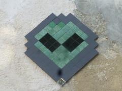 Mr Djoul (Archi & Philou) Tags: djoul mrdjoul streetart pixelart mosaque mosaic carreau tiles paris11 oberkampf