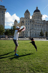DSC06118 (liverpix) Tags: cleo dog performing anthonywalsh photowalk 500px liverpool pierhead liverbuilding ballerina ballet