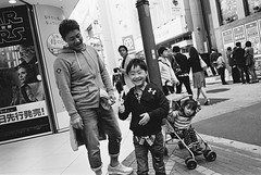 Shinjuku, Tokyo (fabiolug) Tags: kid kids child children man shinjuku people street streetphotography tokyo japan japanese asia leicamp leica mp rangefinder film filmphotography believeinfilm blackandwhite blackwhite bw kodaktrix400 trix400 kodak trix kodaktrix leicaelmarit28mmf28asph elmarit28mmf28asph elmarit28mm leicaelmarit28mm 28mm elmarit leicaelmarit wide wideangle