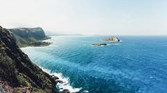 DSC_0881-LRpan_stitch-LR (nesteaman2) Tags: hawaii oahu hawaii2016 blue water lighthouse makapuu