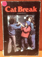 Cat Break - Elizabet (hazycats) Tags: cat break elizabet hazel catkins vintage books