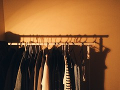 Ma clothes. Room Clothes Clothing Clothing Rack Indoors  Warm Colors Simple Daily Daily Life Lifestyles Life (Ashyblue07) Tags: room clothes clothing clothingrack indoors warmcolors simple daily dailylife lifestyles life