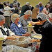 2012 NC Campuses Against Hunger conference attendees package 10,000 meals for Stop Hunger Now.