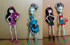 New Monster @ Home (Just a Nobody) Tags: monster dead high doll frankie tired fashiondoll stein scarytale draculaura