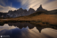 The Moonlight | Pale di San Martino | Dolomiti (Enrico Grotto) Tags:
