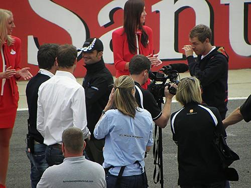 Sebastian Vettel at the 2011 British Grand Prix