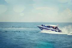 Blue Crush..! (Яahul...) Tags: ocean cruise blue sky tourism beach sports coral clouds speed island boat nikon bangkok speedboat july sprinkles sprinkler thai jpeg crush chon buri pattaya 2012 rahul chonburi coralisland d5100 nikond5100 flickrandroidapp:filter=sydney lordificated яahul
