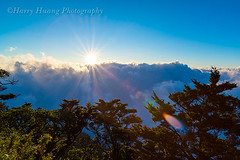 Harry_07439,,,,,,,,,,,,,,,,,, (HarryTaiwan) Tags: sunset cloud sunlight mountain sunshine taiwan      d800  seaofclouds                        northdawumountain  harryhuang  hgf78354ms35hinetnet     northdawu