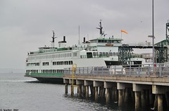 MV Cathlamet at Slip 1, Colman Dock - Washington State Ferries (SolDuc Photography) Tags: ferry canon washington washingtonstate ferries wsf washingtonstateferries cathlamet wsdot mvcathlamet canoneosrebelt2i