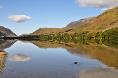 Lakeland Autumn Skies (wilkie,j ( says NO to badger cull :() Tags: autumn mountains water clouds reflections landscape nikon scenery day lakedistrict calm autumncolours clear cumbria nationalparks nationaltrust crummockwater buttermere clearday scenicwater sceniclandscape