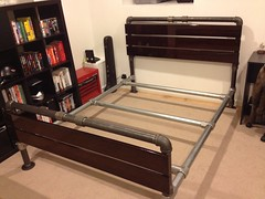 Industrial Bed Frame