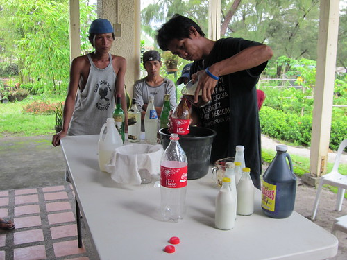 Philippines - Tanaman Foundation - Botolan, Zambales - Hands-on training on Effective Microorganism - June 2012