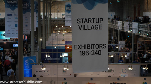 Startup Village: Web Summit 2012 In Dublin (Ireland)