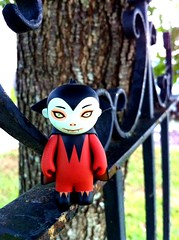 31 Days of Halloween 19 (welovethedark) Tags: tree halloween fence vampire iphone taramcpherson vampireboy iphonecamera photoshopforiphone