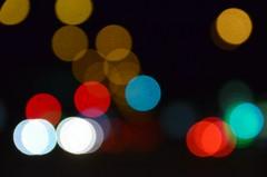 Suurlinna tuled ;) (anuwintschalek) Tags: vienna wien autumn night dark lights austria abend october nacht bokeh herbst dots dunkel lichter 2012 sügis õhtu 18200vr pime bokehdots d7k tulukesed nikond7000