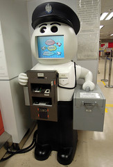 Traffic Offense Payment Robot (cowyeow) Tags: china money cute goofy asian hongkong robot crazy funny asia technology character fine cartoon chinese police ticket science cop law dmv stature robocop payment wanchai offense trafficticket funnychina funnyhongkong trafficoffense
