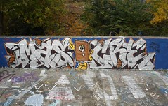 north london 2012 (Massiwarrior.....) Tags: london writing graffiti masi chrome dub tottenham chocalate masika silverfoil masy masica masicre masiker masicur
