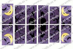 """Adhesivos para uas """"Halloween"""" (Art4Nails) Tags: halloween noche cementerio gatos luna santos pegatinas brujas escoba uas araas calabazas murcilagos adhesivos diseouas adhesivosuas pegatinasuas decoracinuas"""