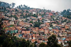 (navid j) Tags: city travel urban house building architecture colombia bogota hill structure dense