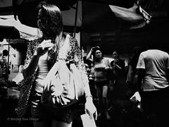 Hidden Face (Meljoe San Diego) Tags: bw women candid grain streetphotography photowalk ricoh grd4 creepyshot meljoesandiego grdiv