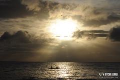 My morning sun at Oslob [Explored] (Dodzki) Tags: sunrise nikon raylight d5000 october2012