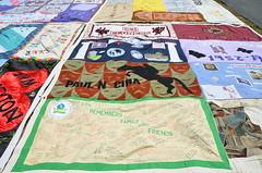 AIDS Memorial Quilt 2 (afagen) Tags: washingtondc smithsonian dc washington quilt nationalmall aidsquilt epa smithsonianfolklifefestival folklifefestival aidsmemorialquilt