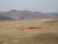 Amarbayasgalant monastery in Mongolia (mbphillips) Tags: nomad mongolia モンゴル 몽골 蒙古 asia アジア 아시아 亚洲 亞洲 mbphillips canonixus400 landscape paisaje 景观 景觀 경치 geotagged photojournalism photojournalist