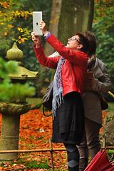 Japanse-tuin-2 (Don Pedro de Carrion de los Condes !) Tags: park apple modern groen herfst jardin natuur denhaag joker tuin rood garten lart japonais donpedro japans japanse fotograferen clingendael ipad jardinjaponais japansetuin voorjoker landgoedclingendael sneeuwlantaarn nieuwerwets