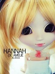hannah de amelie (By Lemon) Tags: white green eye japan by de lemon eyes doll hannah korea blond pullip grn augen auge puppe ameli
