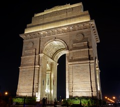 India Gate Night