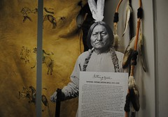 Sitting Bull at Little Bighorn Museum, Montana (Julia R2012) Tags: snow montana indians battlefield littlebighorn custer sittingbull littlebighornmuseum