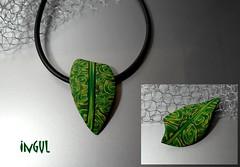 Kette & Brosche (Ingul-design) Tags: handmade unique fimo kato premo polyclay ketten handarbeit broschen unikatschmuck