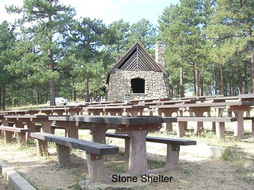 Photo - Picnic Tables and Stone Shelter