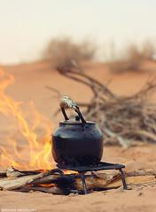 ( ibrahim) Tags: sky sun nature clouds canon photography eos sand desert drought sands ibrahim abdullah hilux      50d    canon50d