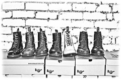 Doc Marten-shades of grey. . . (CWhatPhotos) Tags: pictures blue original light red blackandwhite brown white men green feet monochrome up yellow canon dark that cherry photography boot foot eos grey photo foto close with hole boots photos dr air navy tan picture 8 shades wear have doctor adobe footwear fotos 7d mens stitching z comfort sole doc cushion marten which soles dm docs contain drmartens bouncing airwair lightroom docmartens welt martens dms 1460 drmarten vdm cushioned wair 1460s yellowstitching cwhatphotos vdmsole