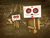 Dia de los Muertos Danbo (.•۫◦۪°•OhSoBoHo•۫◦۪°•) Tags: sanfrancisco dayofthedead manga kawaii diadelosmuertos mesoamerican danbo allsouls amazoncojp revoltech danboard yotsubai nikoncoolpixs6000 danbophotography amazoncardboardrobot november2nd2012 diadelosmuertosdanbo sugarskulldanbo