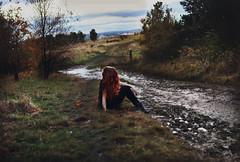 273/366 (220495) Tags: autumn sunset fall nature redhair 220495