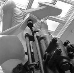 "Sir Jacob Epstein ""Rock Drill Reconstruction"" 1974 (original 1913-14) (jacquemart) Tags: birmingham reconstruction rockdrill sirjacobepstein birminghammuseumandartgallery"
