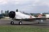 North American T-6 Harvard IIB G-AZSC 05 North Weald 13-14.05.1989 (Victor Vulcan) Tags: plane airplane aircraft aeroplane northweald gazsc northamericant6harvardiib