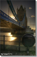 (bruto68) Tags: city london nikon nuvole colore fiume cielo acqua londra hdr controluce citta fisheyes tamigi d300s bruto68 nikond300s