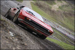 308 GTB. (Barry_Adams) Tags: winter canon 50mm stage rally january ferrari hatch 18 brands gtb 308 2013 worldcars barryadams blfstg201301