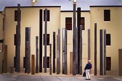 First Encounter_Fine Art (Jong Lee's Photo World) Tags: wood sculpture art person fineart sydney surprise aborigine museumofsydney firstencounter firstfleet jonglee ironbeam