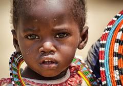 Samburu baby (Sallyrango) Tags: africa kid child kenya samburu africanpeople samburupeople samburuchild tribalafrica snapseed
