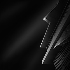 ode to black II - abstract black (Julia-Anna Gospodarou) Tags: city longexposure sky urban blackandwhite bw building monochrome architecture modern clouds dark square concrete nikon patterns tripod perspective dramatic athens highlights greece negativespace le workshop streaks contrasts 2012 upwards manfrotto modernbuilding hoya architecturalphotography blacksky acropolismuseum nd64 2013 darktones bw110 blackii manfrotto055xprob nikond7000 nikon1024mm juliaannagospodarou siruik20x atrinacenter